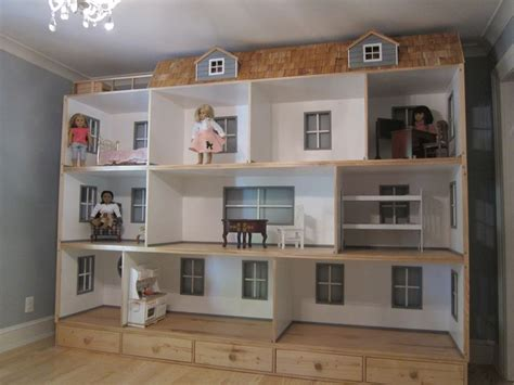 how to build a american girl doll house best 25 american girl dollhouse ideas on pinterest