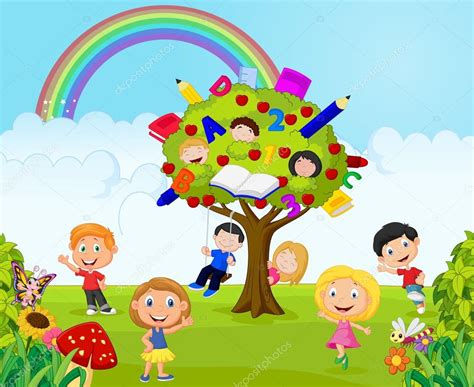 imagenes de niños jugando infantil dibujos animados de ni 241 os jugando jueguito en la selva
