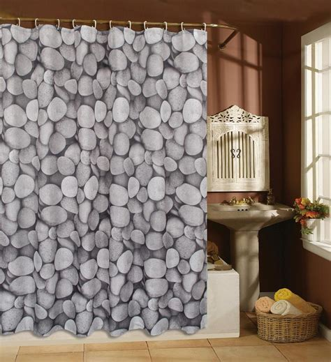 design your own shower curtain online cobblestone design 180x180cm polyester bathroom use shower