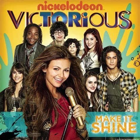 theme song victorious make it shine victorious theme by victorious cast feat