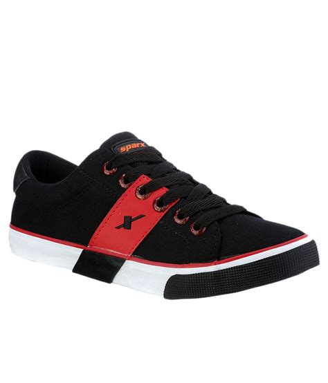 sparx black canvas shoes buy sparx black canvas shoes