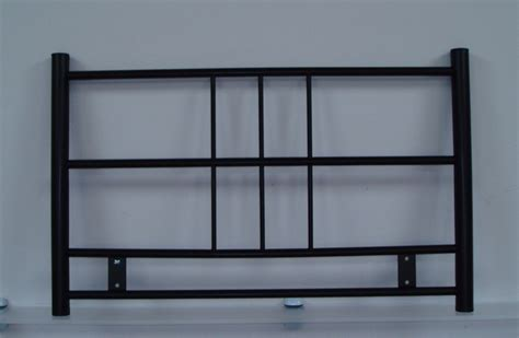 Single Metal Headboards by 3ft Single Metal Headboard For Bed In Black Finish The