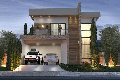fachadas de casas modernas minimalistas  como
