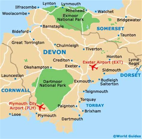 64 exeter plymouth lynton and lynmouth maps and orientation lynton and