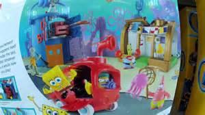 imaginext spongebob squarepants krusty krab playset and chum bucket youtube