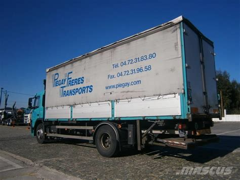 volvo truck curtains used volvo fm9 300 4x2 curtain side trucks year 2007 for