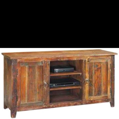 Recycled Timber Tv Cabinet by Reclaimed Wood Tv Stand Joel Madsen Do You Make This
