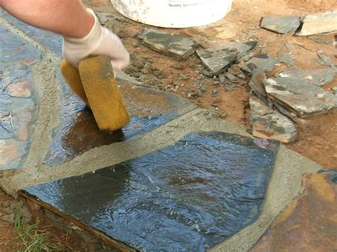 Mortar Mix For Patio by How To Build A Bordered Gravel Patio How Tos Diy