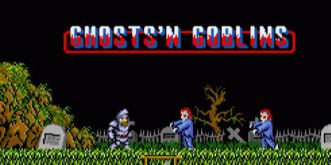 ghostsn goblins arcade games nintendo