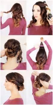 diy hairstyles for shoulder length easy diy updos for medium length hair hairstylegalleries com