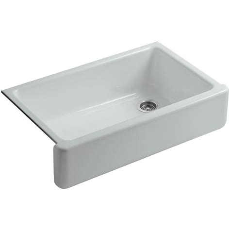 34 inch farmhouse sink kohler whitehaven undermount farmhouse apron front cast