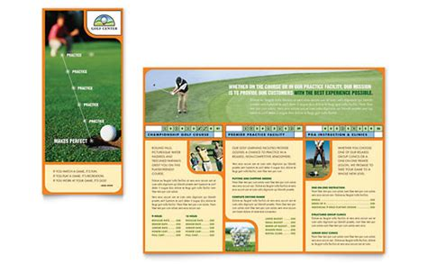 Golf Tournament Flyer Template Word Publisher Golf Design Template