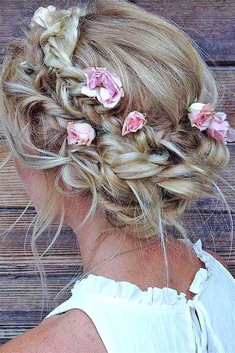 Hairstyles For Flower by The 25 Best Flower Hairstyles Ideas On