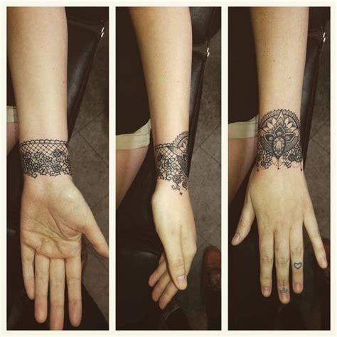 lace wrist tattoo best 25 lace ideas on thigh