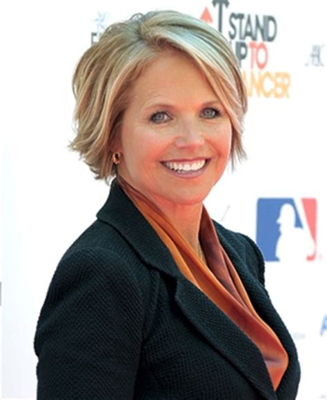 hairstyles of katie couric katie couric katie o malley and short hairstyles on pinterest
