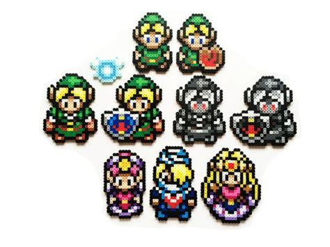 Link Time Fabsugar Want Need 44 by The Legend Of Ocarina Of Time 1998 Perler
