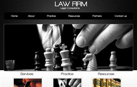 website templates for law firms 110 fresh free website layout psd templates