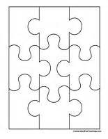 How To Make A Puzzle Out Of Paper - 25 best ideas about puzzle template on