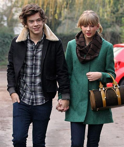 harry styles photos one direction walks to a studios harry styles and taylor swift maddy d flickr