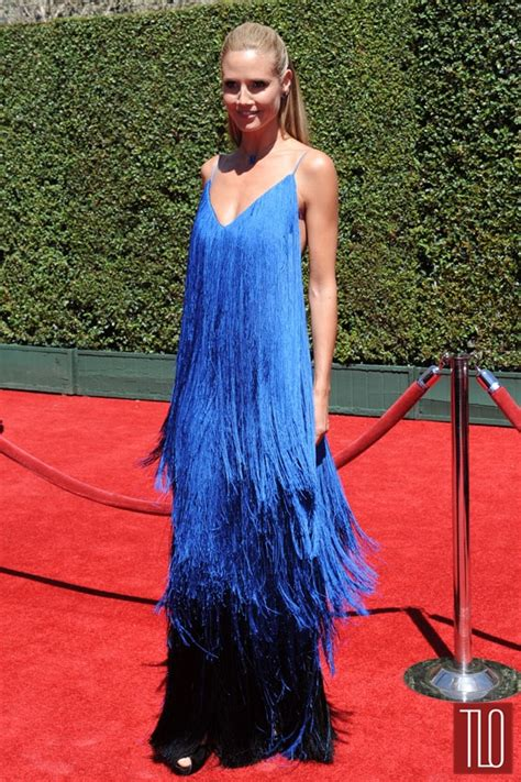 Catwalk To Carpet Emmy Awards by Heidi Klum In At The 2014 Creative Arts Emmy