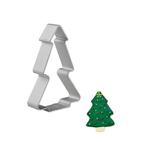 christmas tree shaped cookie cutter cake mold for pastry