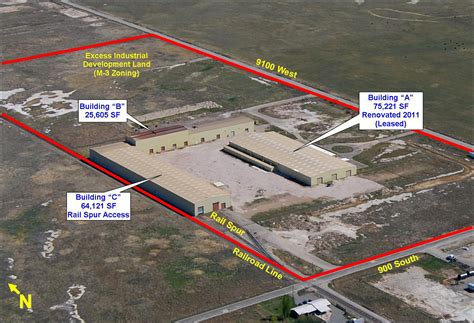 Weber County Records Property Sold Weber County Heavy Manufacturing Facility