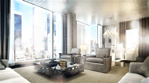 Private Dining Rooms In Nyc by 50 Story Baccarat Hotel Amp Residences New York To Open In