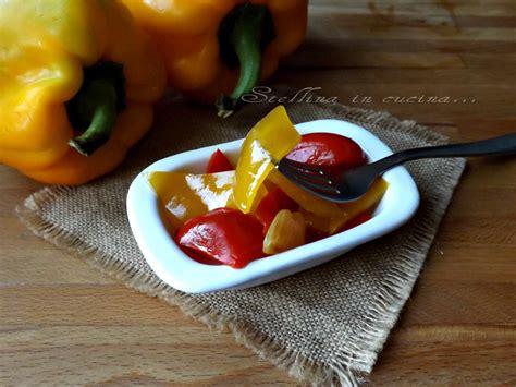 come cucinare i peperoni in agrodolce peperoni in agrodolce come avere i peperoni tutto l anno