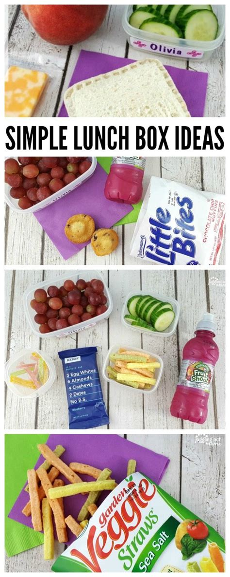 Simple Lunch Box simple lunch box ideas juggling act