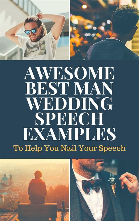 Best Man Speeches   Style   Best man speech examples, Best