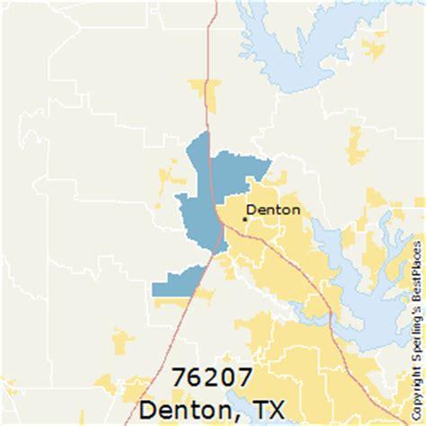 denton texas zip code map best places to live in denton zip 76207 texas
