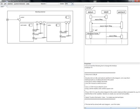 open source software for uml diagrams umlet umlet is an open source uml tool with a simple