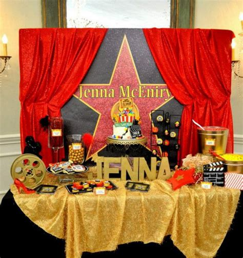 vintage hollywood theme party ideas hollywood theme party 10 year old hollywood theme party