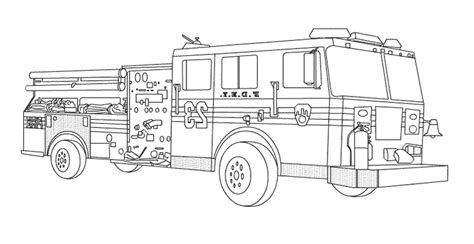 20 free printable fire truck coloring pages fire truck coloring page about fire truck coloring pages