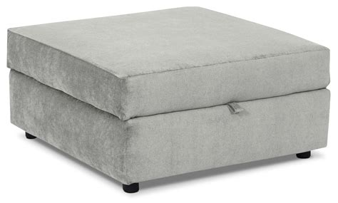 Square Storage Ottoman Designed2b Chenille Accent Square Storage Ottoman Lavish Grey The Brick