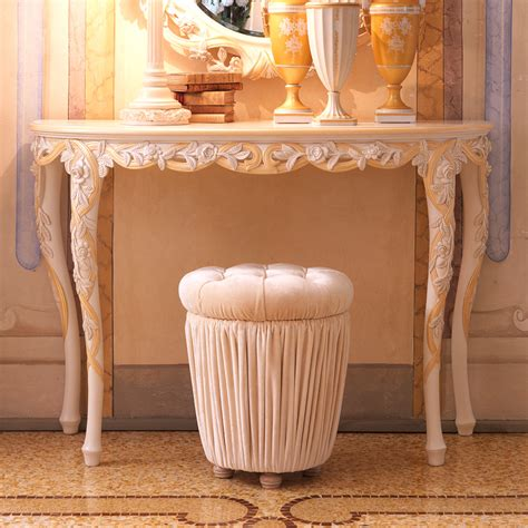 Ivory Console Table Designer Italian Ivory And Gold Console Table