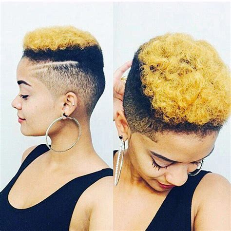 first time womens fade haircut barber cuts for black women on pinterest black women