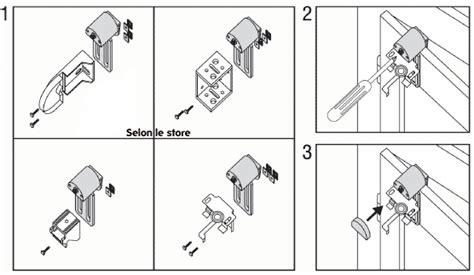 Fixation Store Sans Percer 5656 by Fixation Store Bateau Comment Les Poser Sur Des Fenetres Pvc