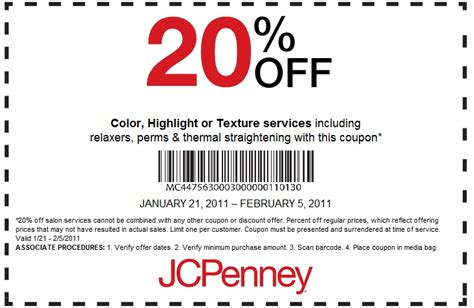 jcpenney salon coupons printable 2016 printable jc penney coupons printablecouponcode