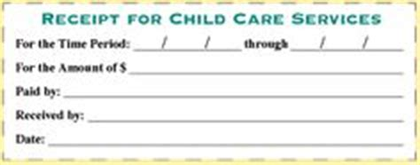 receipt book template for child care service 1000 images about home day care on daycares