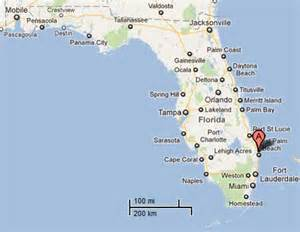 west coast florida beaches map
