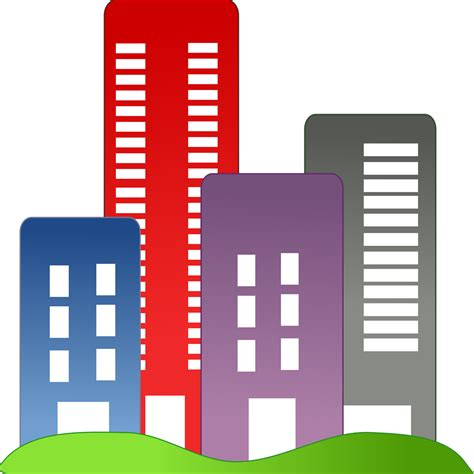 building clipart buildings free stock photo illustration of city