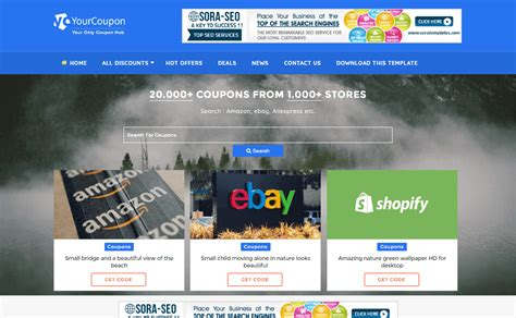 blogger templates for coupons high quality free blogger templates