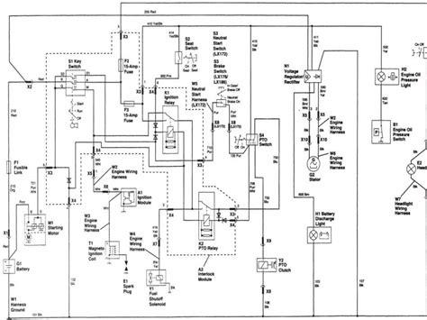 deere l120 wiring diagram deere l120 pto wiring
