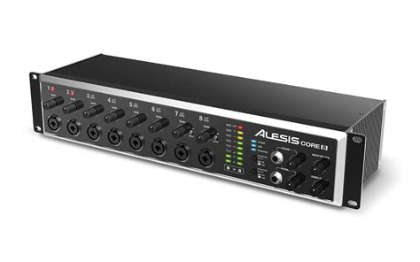 8 Audio Channel by Alesis 8 Rackmount Usb 2 0 8 Channel Audio Interface