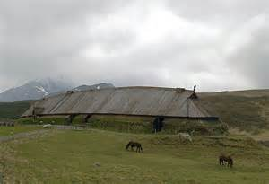 the viking chieftain s longhouse at borg thornews