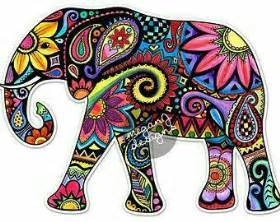 colorful elephant best 20 elephant design ideas on elephant