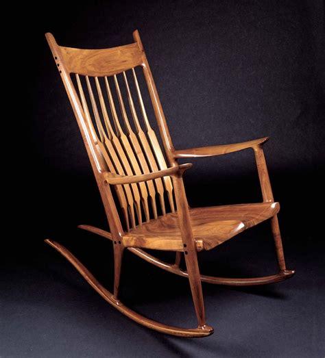 Rocking Folding Chair Sam Maloof Chair By Sam Maloof Fabulous Furniture