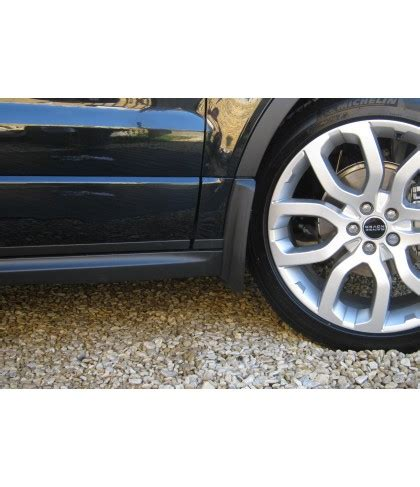 range rover evoque mudflap kit dynamic front & rear