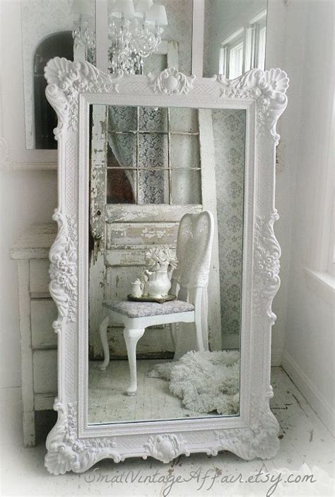 shabby chic floor mirror 25 best ideas about white mirror on large